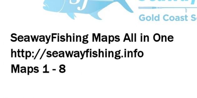 SeawayFishing Maps All in One Maps 1-8