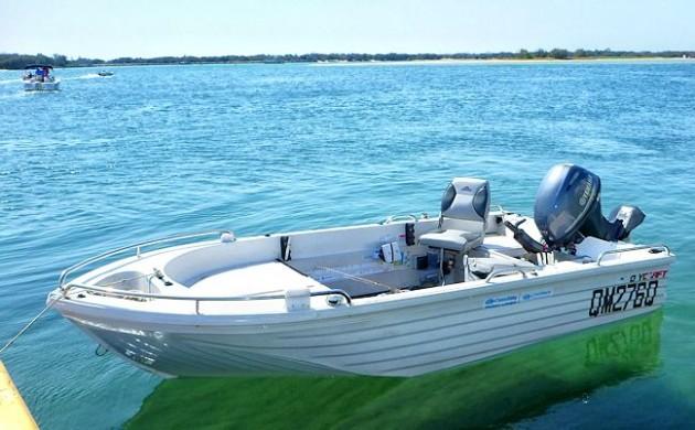 The SeawayFishing Boat Polycraft Challenger 410 in Detail